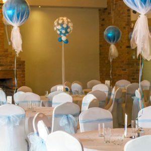 Оформление свадьбы шарами сделает ваше торжество красивым, незабываемым